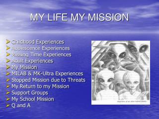 MY LIFE MY MISSION
