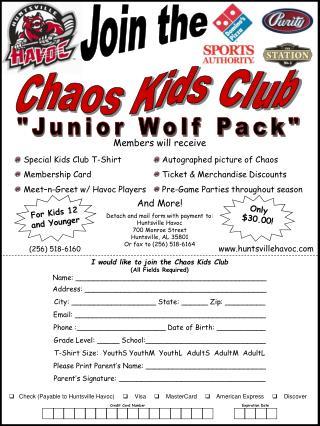 Chaos Kids Club