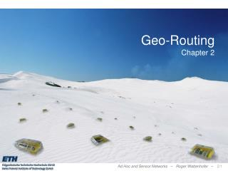 Geo-Routing Chapter 2