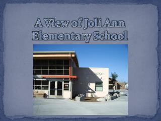 A View of Joli Ann Elementary School