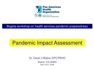 Bogota workshop on health services pandemic preparedness