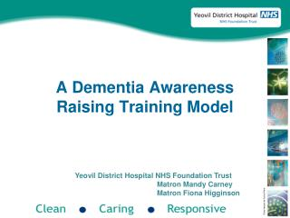 A Dementia Awareness Raising Training Model