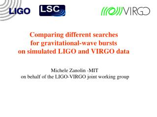 Comparing different searches          for gravitational-wave bursts