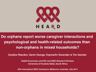 Do orphans report worse caregiver interactions and