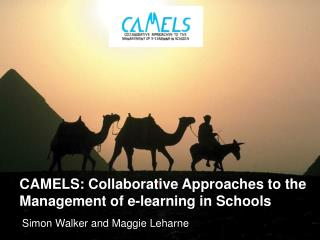 CAMELS: Collaborative Approaches to the Management of e-learning in Schools