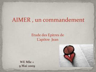 AIMER , un commandement
