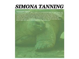 SIMONA TANNING