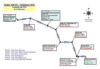 Saída 153 – Washington Luiz Sentido Rio Claro 52,2 km pedalados