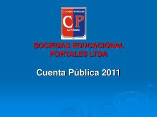 SOCIEDAD EDUCACIONAL  PORTALES LTDA