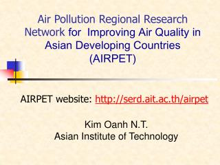 Air Pollution Regional Research Network for