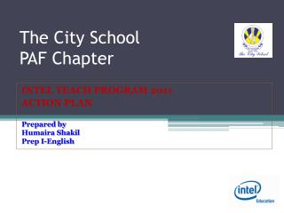 The City School  PAF Chapter