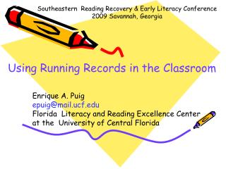 Using Running Records in the Classroom