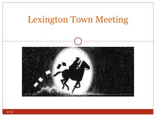 Lexington Town Meeting