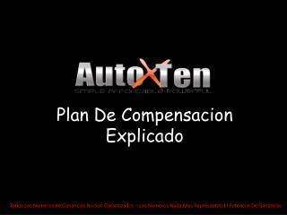 Plan De Compensacion Explicado