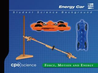 The Energy Car -  Making and using a graph