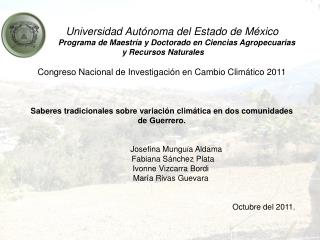 Universidad  Autónoma del Estado de México