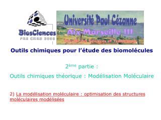 Outils chimiques pour l'étude des biomolécules 2 ème  partie :