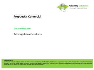 Advisory Solutions