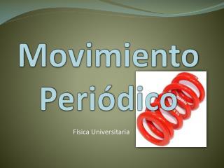 Movimiento Periódico