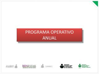 PROGRAMA OPERATIVO ANUAL