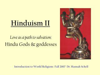 Hinduism II