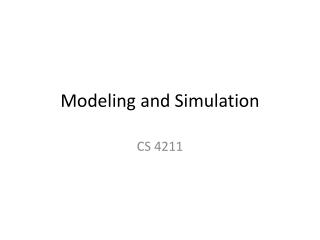 INTRODUCTION TO SIMULATION WITH SIMAN ARENA