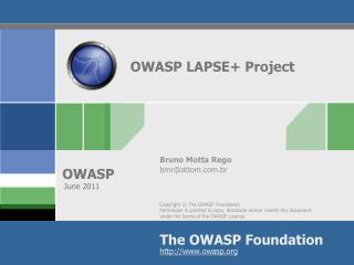 OWASP LAPSE+ Project