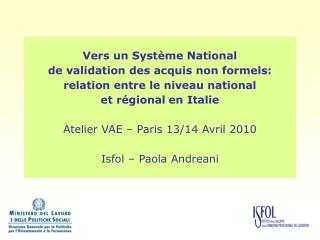 Au niveau national