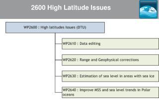 2600 High Latitude Issues