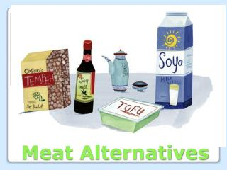 Meat Alternatives