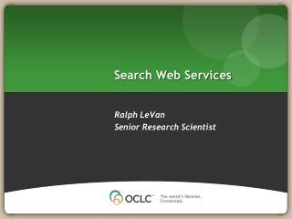 Search Web Services