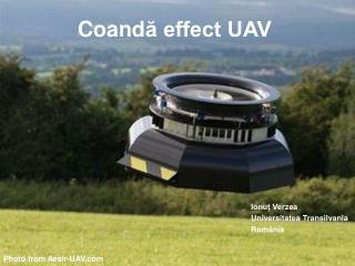 Coand ă effect UAV