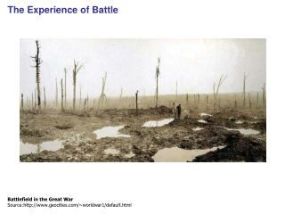 The Experience of Battle