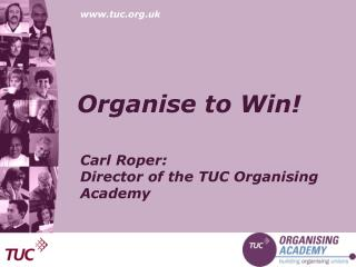 Organise to Win!