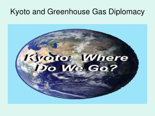 Kyoto and Greenhouse Gas Diplomacy