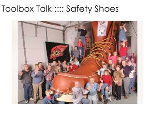 Why wear safety shoes