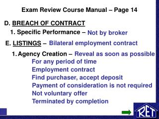 Exam Review Course Manual � Page 14