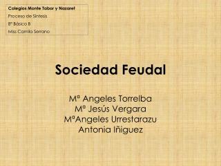 Sociedad Feudal
