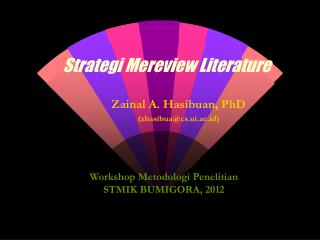 Strategi Mereview Literature