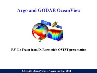 Argo and GODAE OceanView