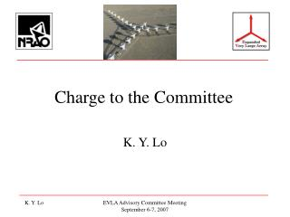 Charge to the Committee