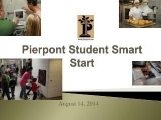 Pierpont Student Smart Start