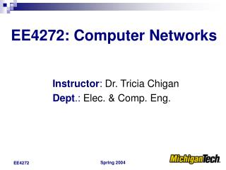 EE4272: Computer Networks