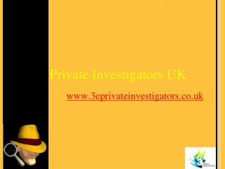 Private investigative services offered by 3e