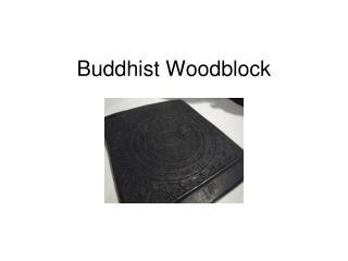 Buddhist Woodblock