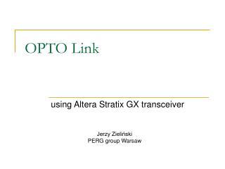 OPTO Link