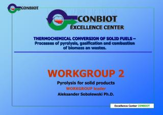 THERMOCHEMICAL CONVERSION OF SOLID FUELS    Processes of pyrolysis, gasification and combustion of biomass an wastes.