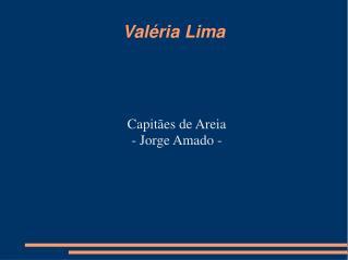 Valéria Lima