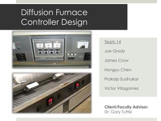Diffusion Furnace  Controller Design