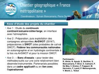 Chantier g�ographique ��France m�tropolitaine��
